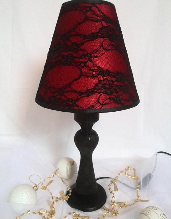 Lampe ruban noir