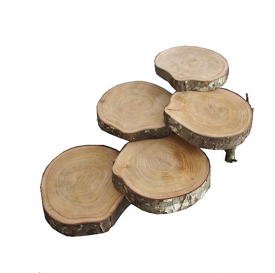 Support à gateaux présentoir bois