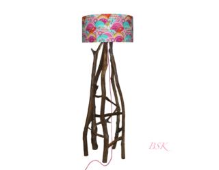 luminaire lampe en bois esprit nature