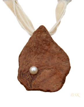 Huître bois flotte et perle