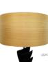Abat-jour feuille de bois design et moderne