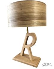 lampe en bois pour enfant personnalisée